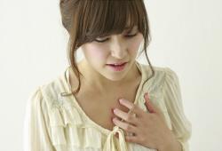 胃酸の逆流による炎症
